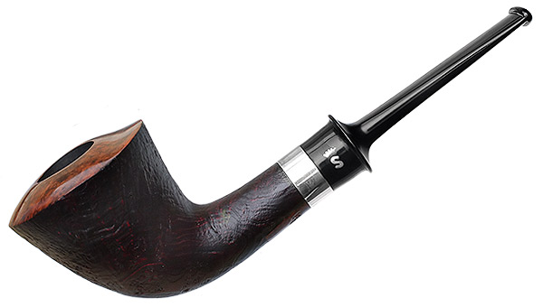 Stanwell Pipe of the Year 2018 Dark Sandblasted with Silver
