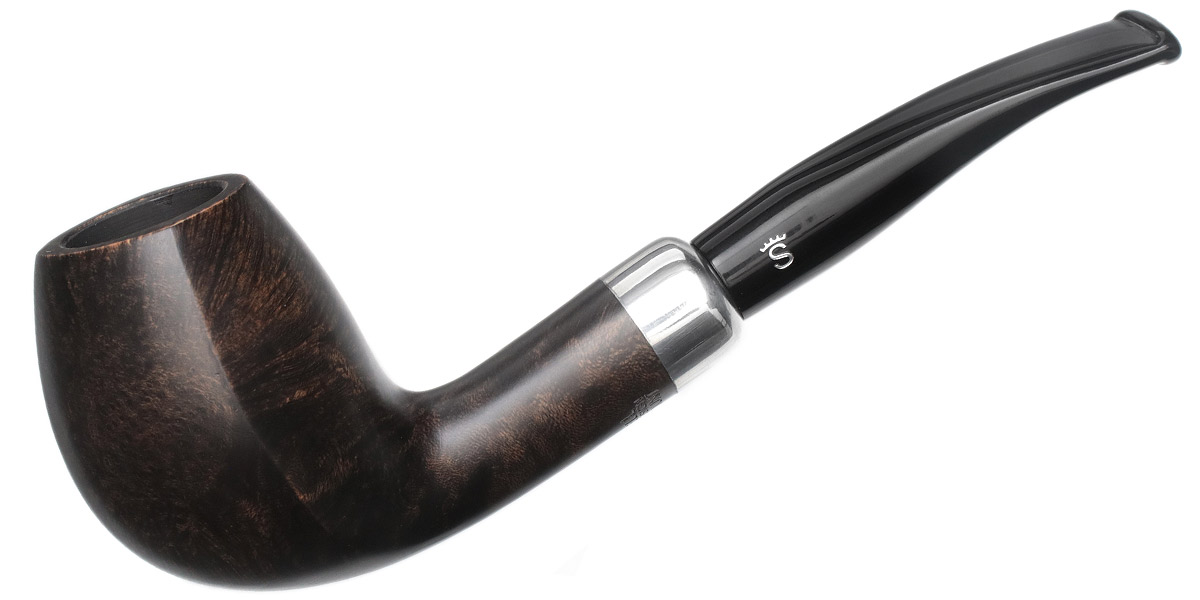 Stanwell Black Smooth Army Mounted (403)