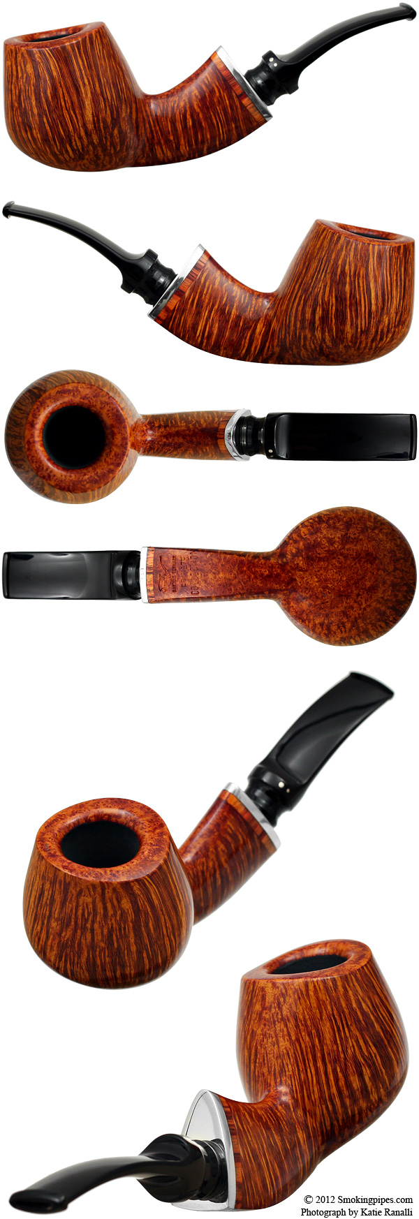 Private Collection Smooth Bent Brandy With Silver