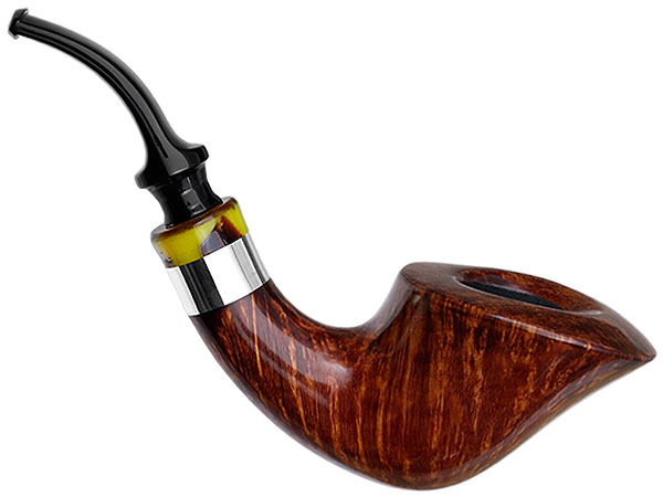 Winslow Smooth Bent Dublin with Silver (D)