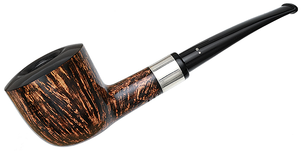 Winslow Smooth Bent Dublin with Silver (A)