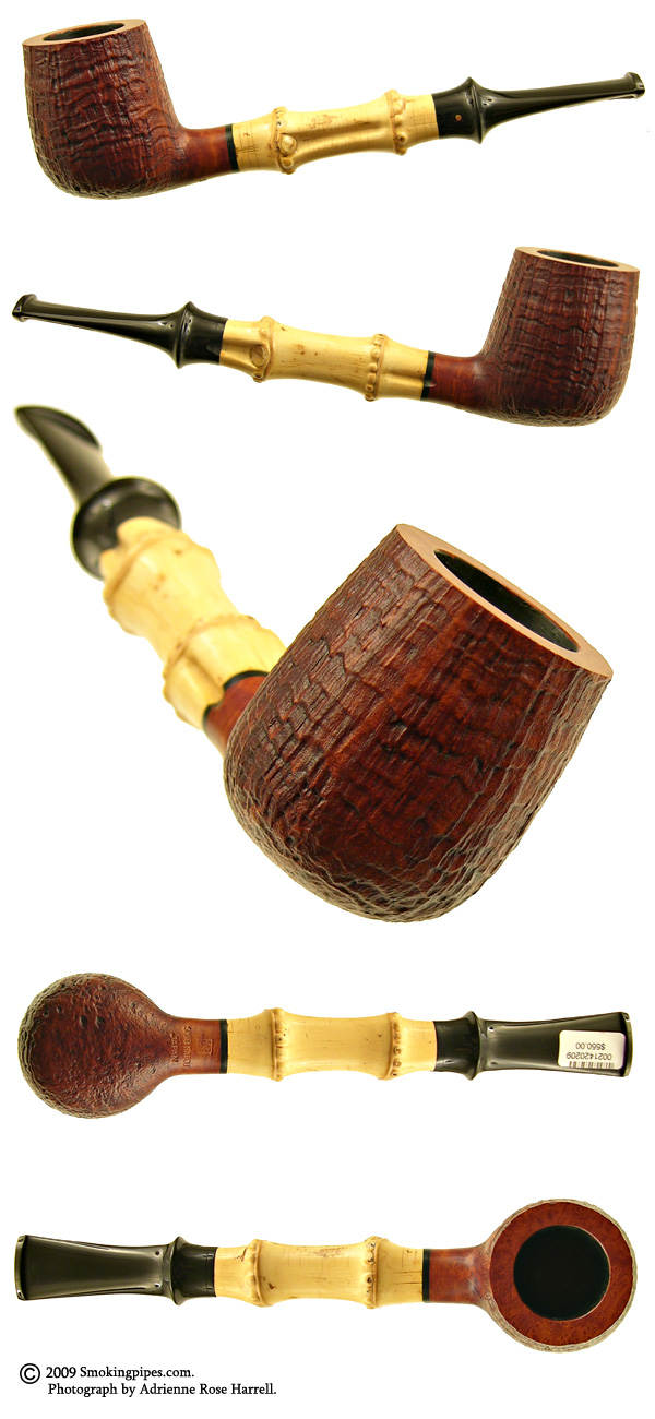 Satou Sandblasted Billiard with Bamboo