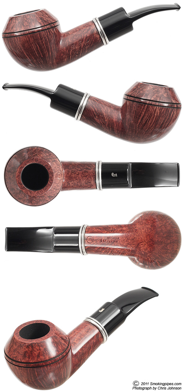 Picta Picasso Walnut Rhodesian with Silver (L1) (01)