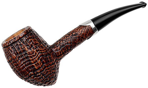 Ser Jacopo Picta Van Gogh Sandblasted Bent Acorn with Silver (14) (S2)