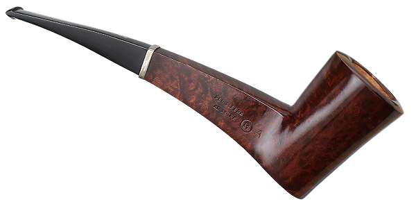 Ser Jacopo Smooth Bent Dublin with Silver (L1)