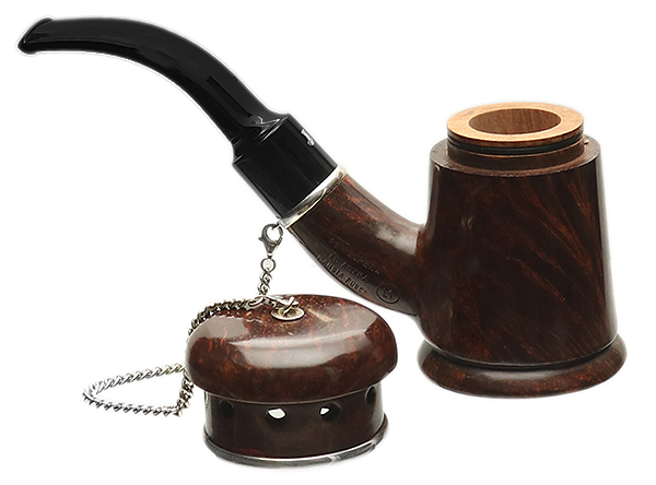 Ser Jacopo Mangia Fuoco Smooth Cherrywood with Silver (L1)