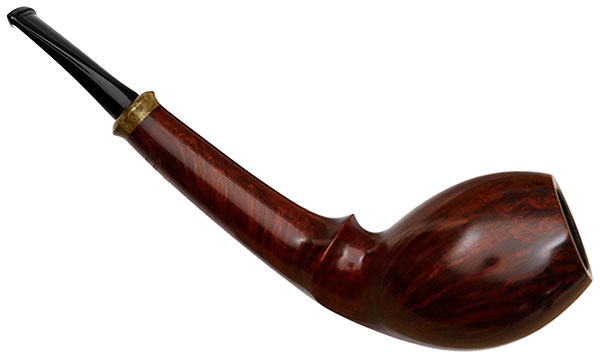 Tonni Nielsen Smooth Tulip Horn with Buckeye Burl
