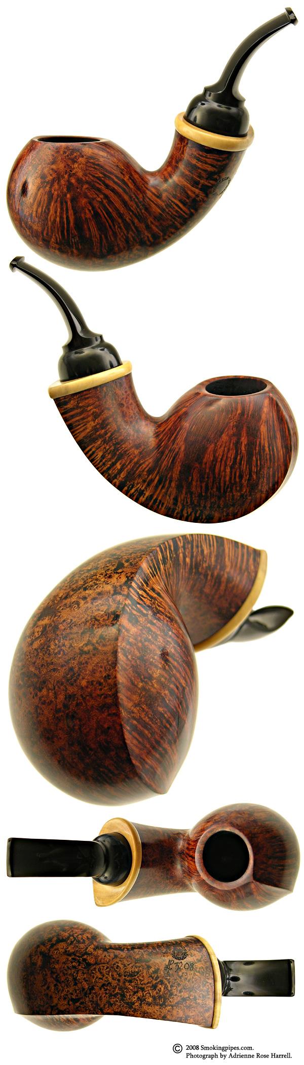 Lars Ivarsson Smooth Blowfish with Boxwood (3208)