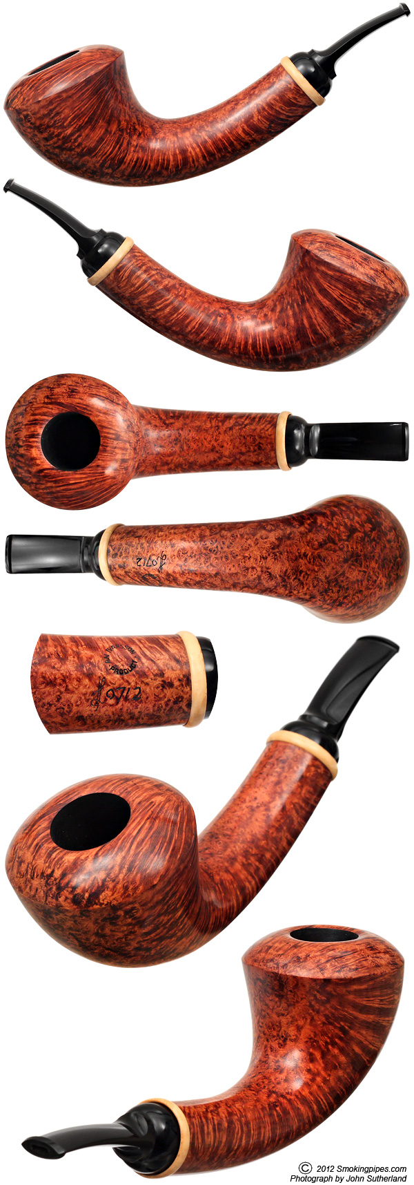 Lars Ivarsson Smooth Horn with Boxwood (0712)