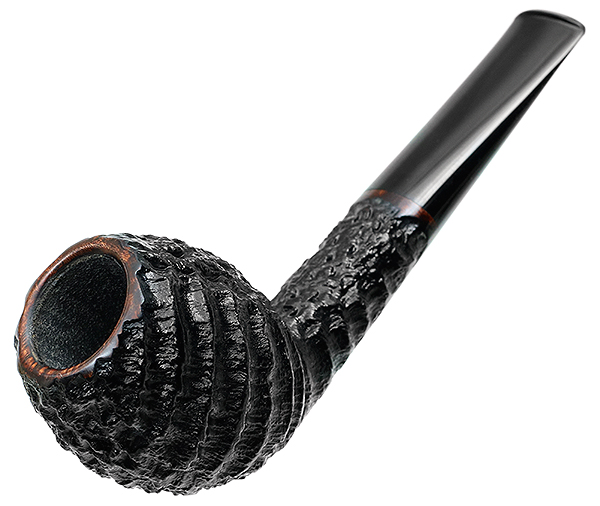 Tom Eltang Smokingpipes.com 15th Anniversary Rusticated Devil Anse