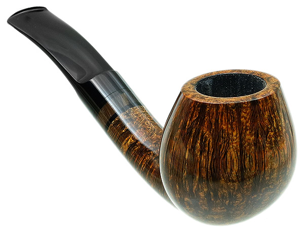 Tom Eltang Smooth Bent Brandy with Horn