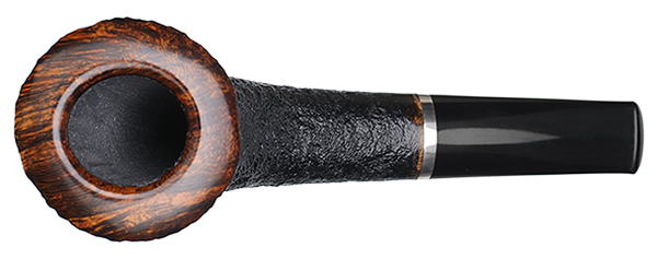 Tom Eltang Partially Sandblasted Horn with Silver
