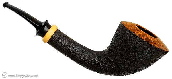 Peter Heding Rusticated Bent Dublin with Boxwood (Silver)