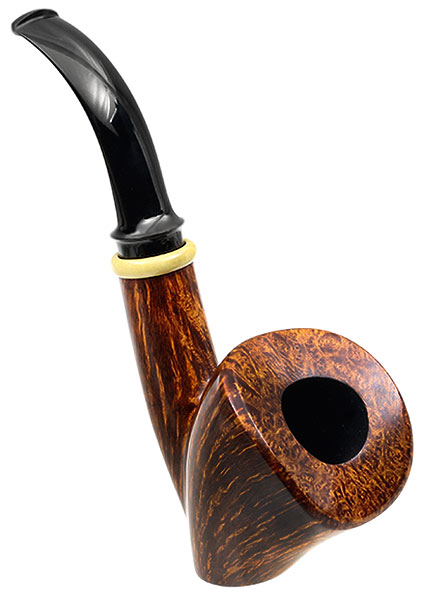 Peter Heding Smooth Bent Dublin Sitter with Boxwood (Diamond)
