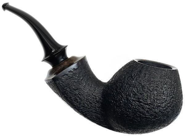 Peter Heding Partially Rusticated Bent Brandy (Silver)
