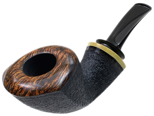 Peter Heding Partially Rusticated Dubliner with Boxwood (Silver)