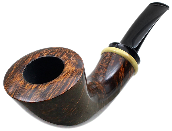 Peter Heding Smooth Horn with Boxwood (Gold)