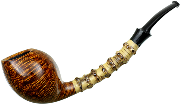 J. Alan Pipes Smooth Speeding Egg with Bamboo (1062)