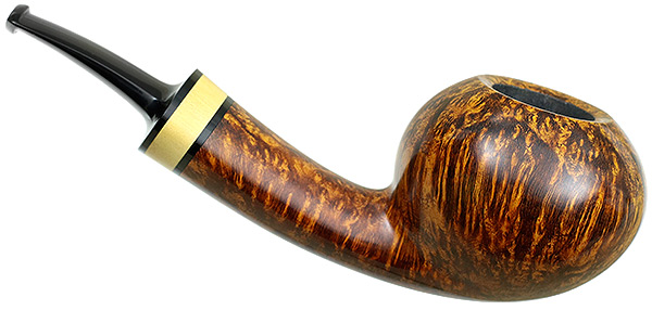 J. Alan Pipes Smooth Tomato with Boxwood (1068)