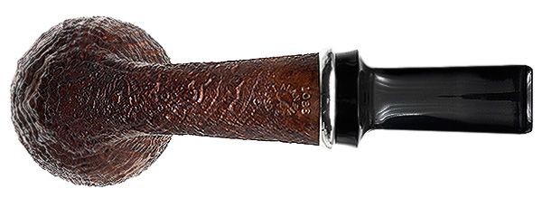 J. Alan Pipes Sandblasted Strawberry with Argentium Silver (1086)