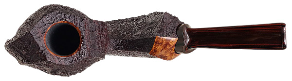J. Alan Pipes Partially Sandblasted Flying Fish (1120)