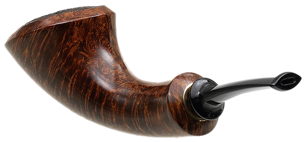 J. Alan Pipes Partially Sandblasted Modern Horn (1127)