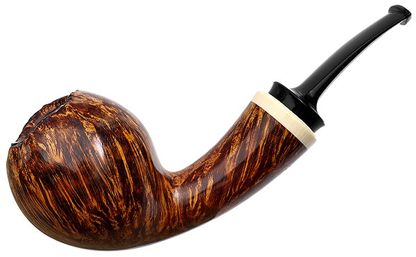 J. Alan Pipes Smooth Tulip with Ivorite (1364)
