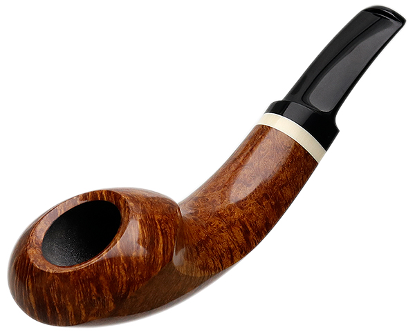 J. Alan Pipes Smooth Horn with Ivorite (1399)