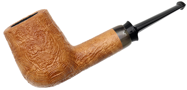 J. Alan Pipes Natural Sandblasted Liminal Billiard with Horn (1402)