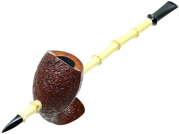Brad Pohlmann Sandblasted Speared Fish with Bamboo