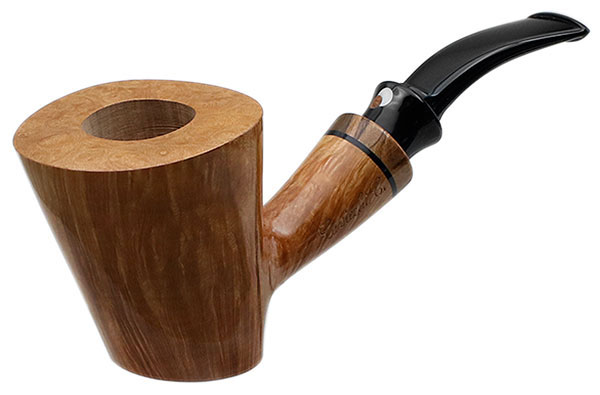 Claudio Cavicchi Smooth Bent Dublin Sitter with Olivewood (CCC)