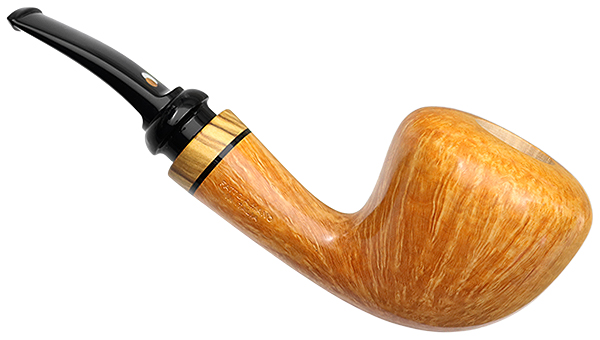 Claudio Cavicchi Smooth Bent Dublin with Olivewood (CCC)