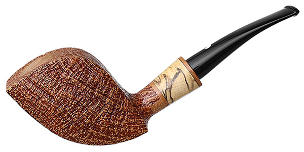 Claudio Cavicchi Brown Sandblasted Paneled Freehand with Tamarind