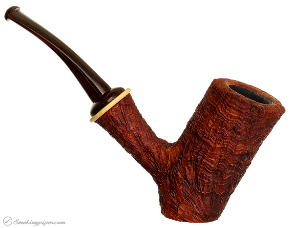 Il Duca Barone Sandblasted Cherrywood with Boxwood Ring (B3)