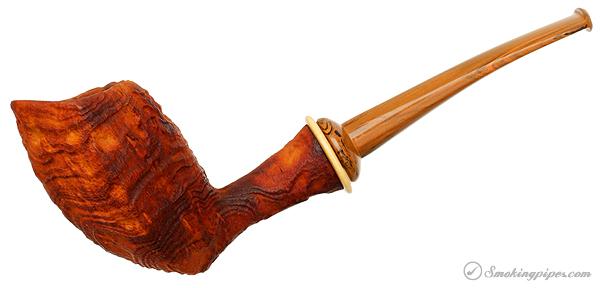 Il Duca Barone Sandblasted Strawberry Wood Shield (B2)