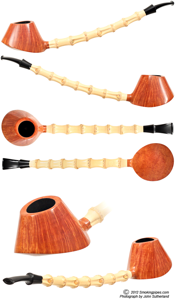 Adam Davidson Smooth Volcano with Bamboo