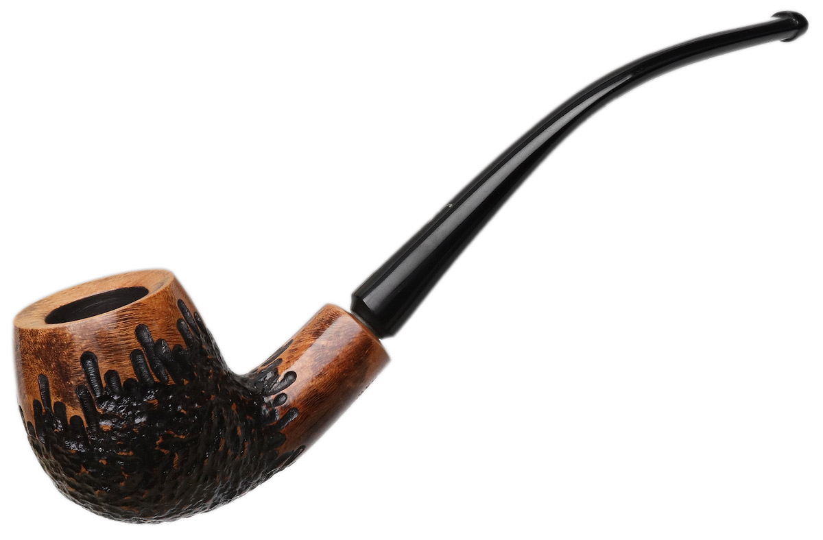 Nording Viking Classic Partially Rusticated Bent Billiard
