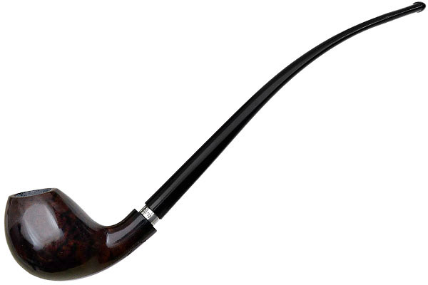 Nording Smooth Churchwarden with Silver