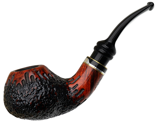 Royal Flush Partially Rusticated Bent Apple (Jack)