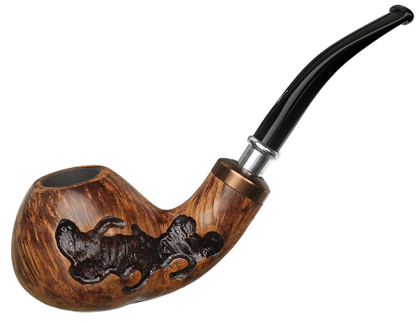 Nording Royal Flush Partially Rusticated Bent Apple (Jack)