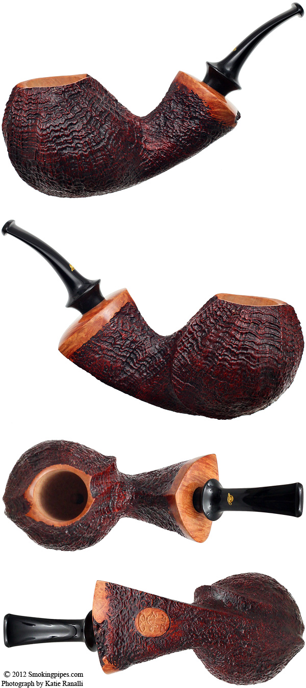 Gabriele Sandblasted Freehand (Turtle)