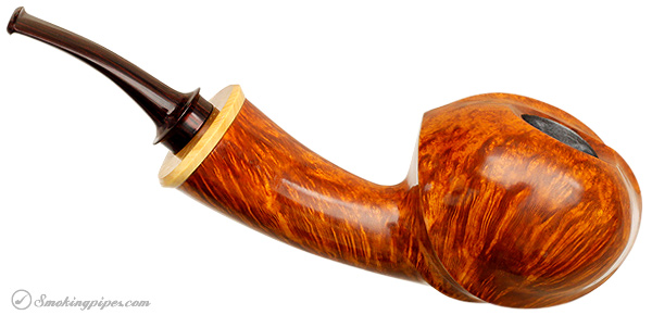 Gabriele Smooth Bent Apple with Boxwood (Snail)