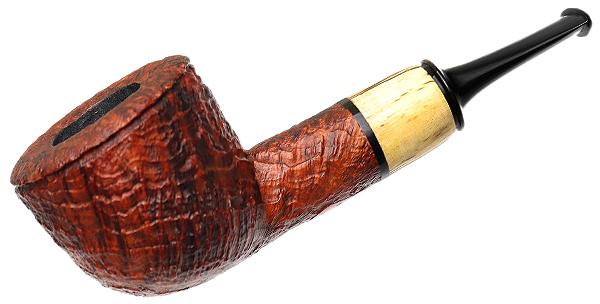 Gabriele Sandblasted Pot with Masur Birch (Turtle)