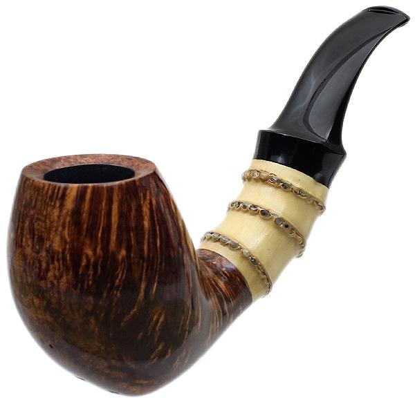Chris Asteriou Smooth Bent Egg with Bamboo (29/17)