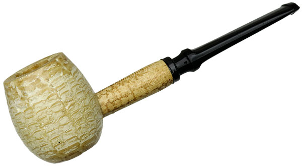 Missouri Meerschaum Diplomat Apple Straight