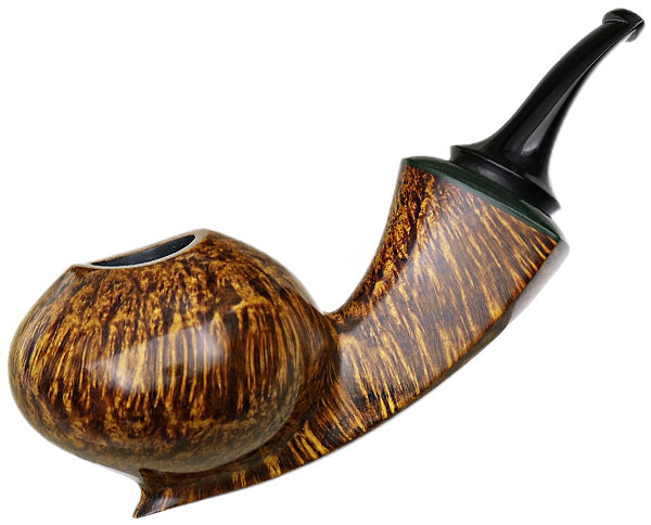 Geiger Smooth Reverse Calabash Fig On a Branch