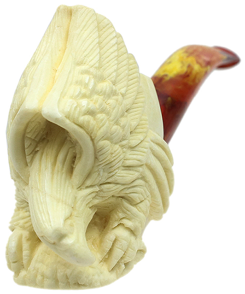 AKB Meerschaum Carved Eagle (with Case)
