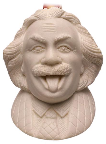 AKB Meerschaum Carved Goofy Albert Einstein (with Case)