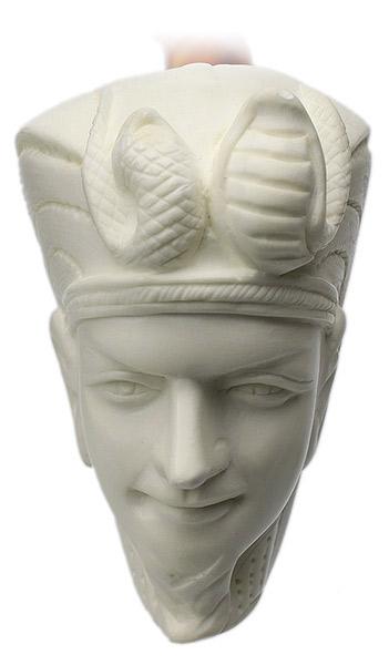AKB Meerschaum Carved King Tut (S. Cosgun) (with Case)
