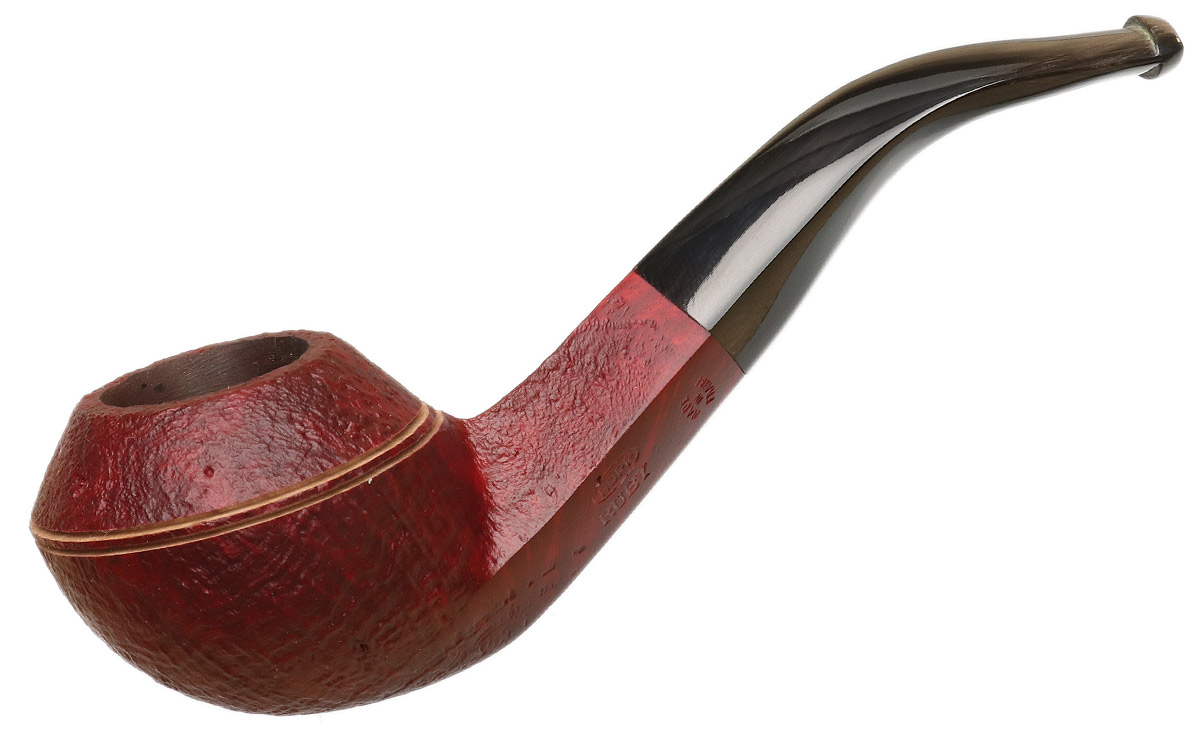 Ropp Ruby Sandblasted Bent Bulldog
